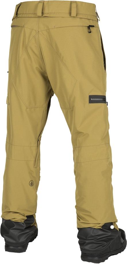 Ski Volcom Gi De Resin Pantalon Pant Gold kZiPuOX