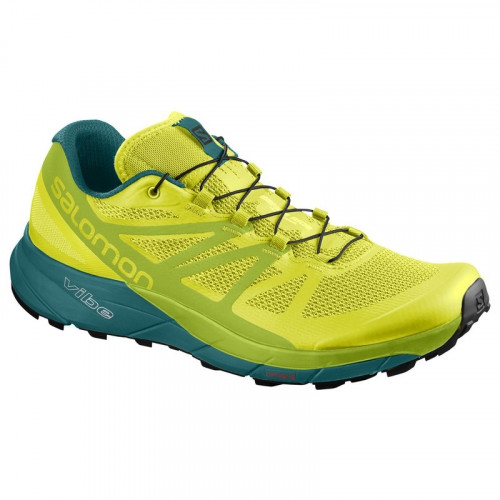 b1e3d0931fc6 Chaussures Trail Salomon Sense Ride Sulfur Spring - PRECISION SKI