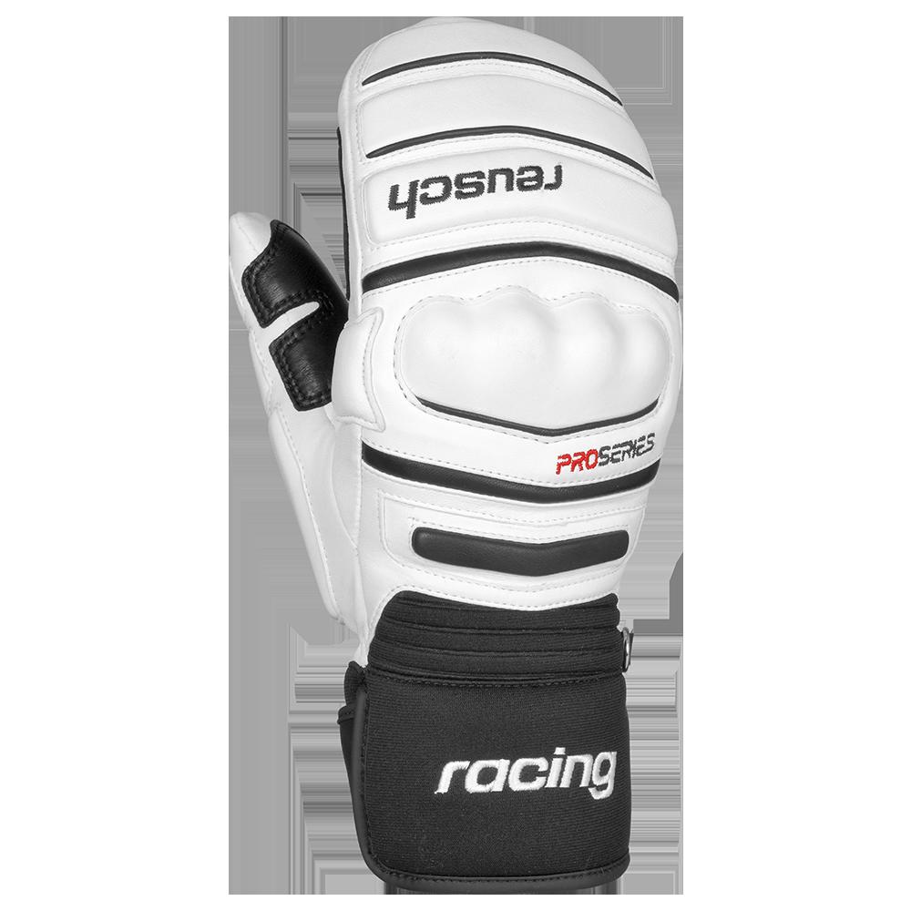 vente de sortie usa pas cher vente 100% qualité garantie Moufles De Ski Racing Reusch World Champ Mitten White / Black par Precision  Ski