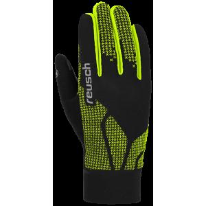 Garantie de satisfaction à 100% nouvelle version prix bas Gants De Ski Nordique Reusch Ian Junior Black / Neon Yellow