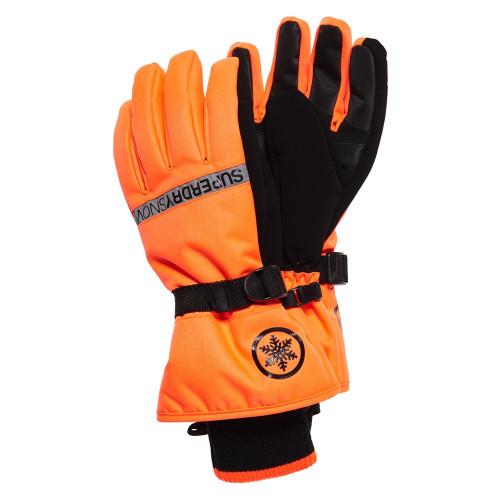 Gants De Ski Superdry Ultimate Snow Service Hyper Orange