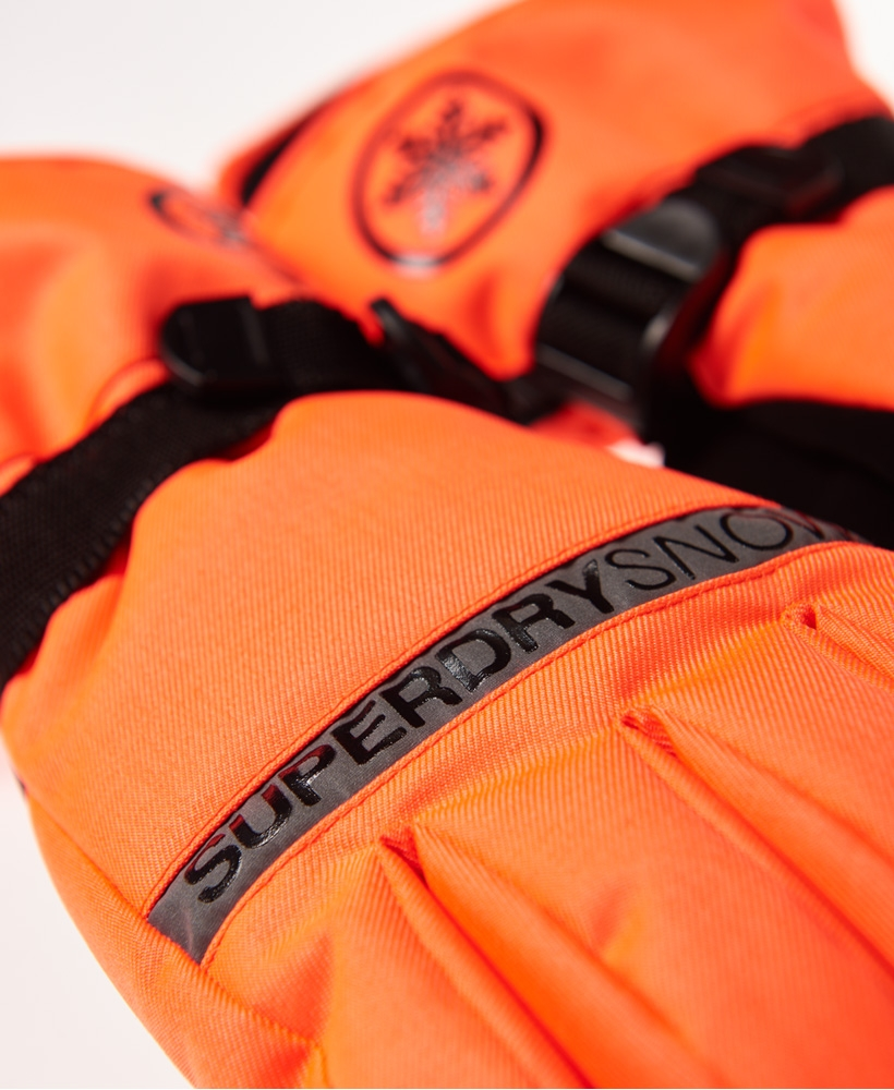 Gants De Ski Superdry Ultimate Snow Service Hyper Orange par Precision Ski