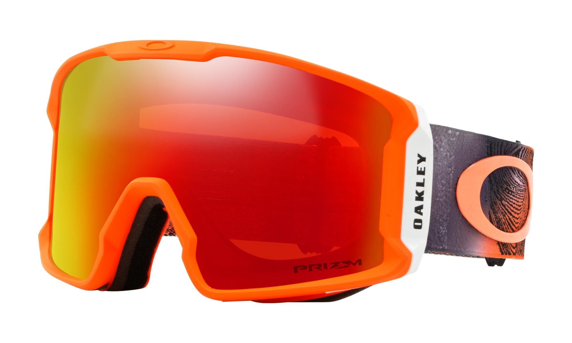20736de015a145 Masque Oakley Line Miner Mystic Flow Neon Orange Prizm Torch - PRECISION SKI