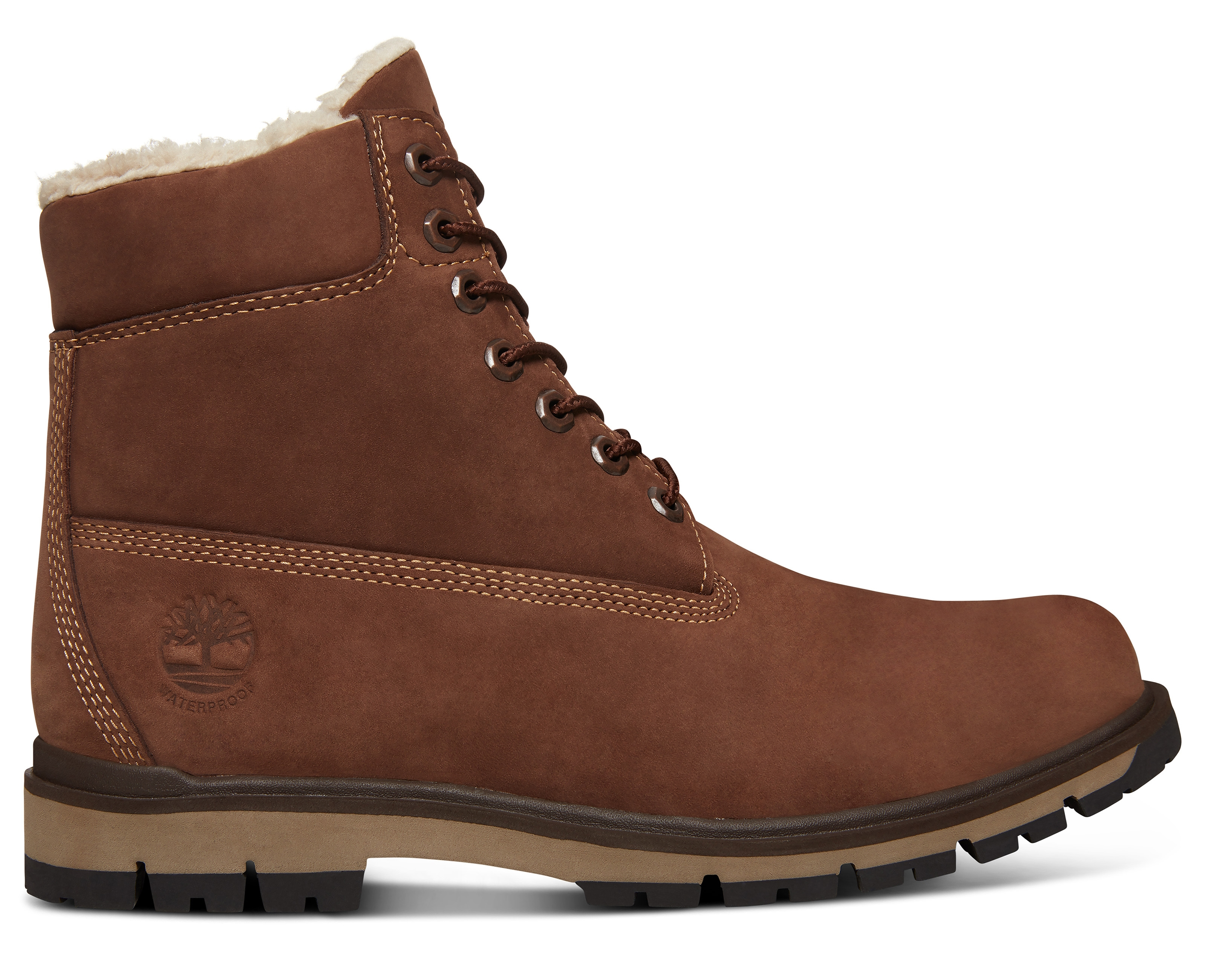 Warm Timberland Radford Boot Wp Lined Bottes Brown b6g7yf