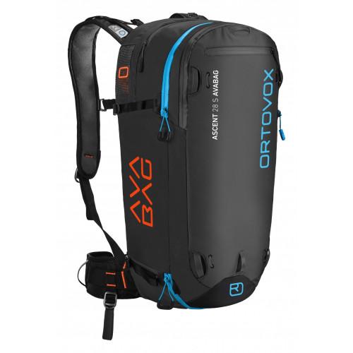 bas prix 09522 4dab5 Sac Airbag Ortovox Ascent 28 S Avabag Black Anthracite