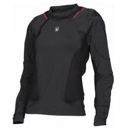 Protection Spyder Femme D3o Armored L/s Crew