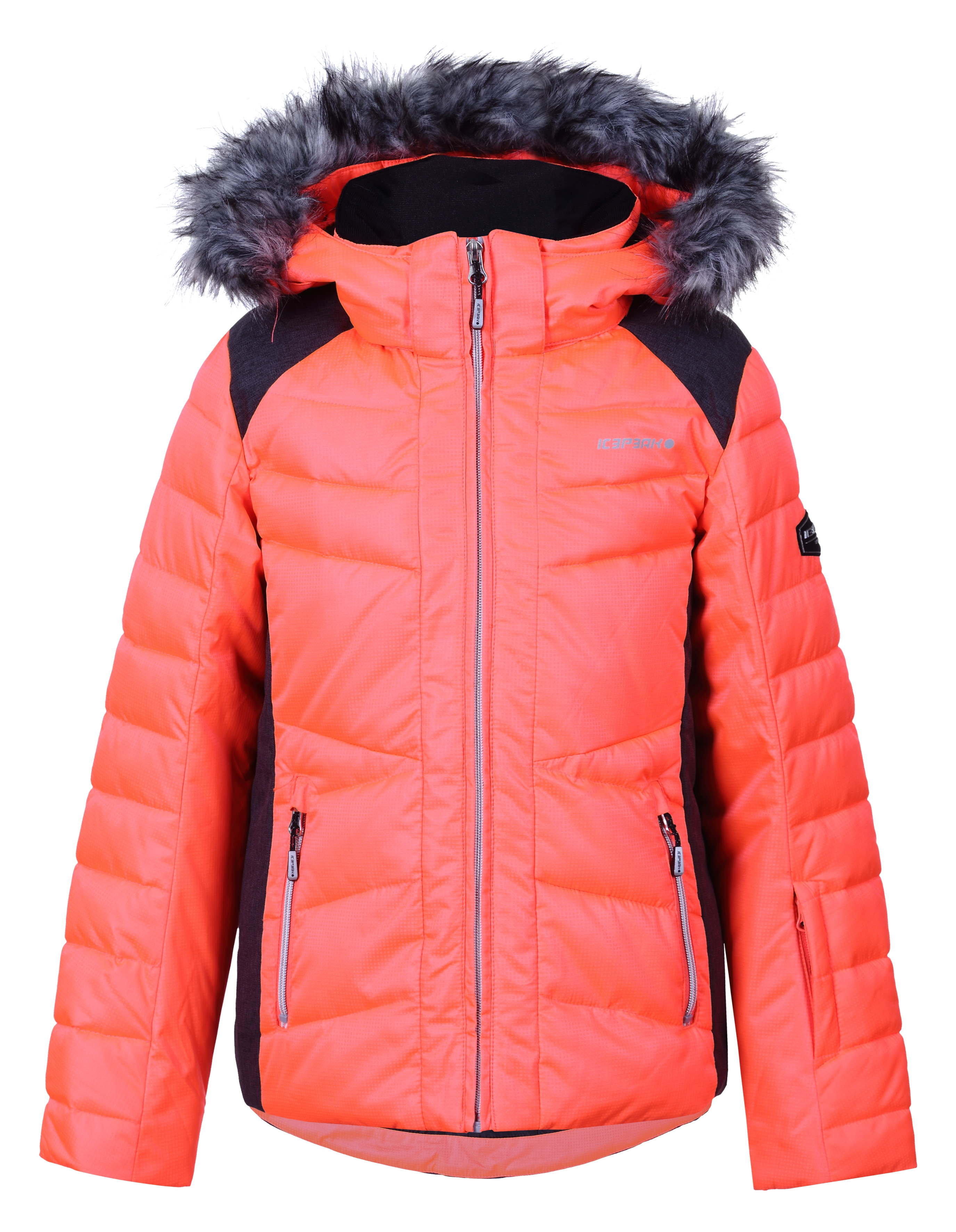 Ski Icepeak Veste De Jr Hara Orange XnwOk8P0