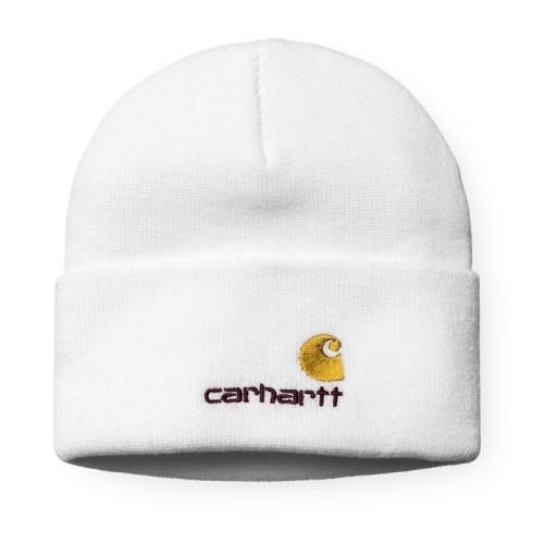 50bea714e2 Bonnet Carhartt American Script Beanie White - PRECISION SKI