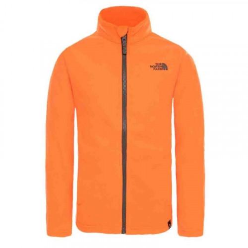0b019c02d0 Polaire The North Face Y Snow Quest Full Zip Orange - PRECISION SKI