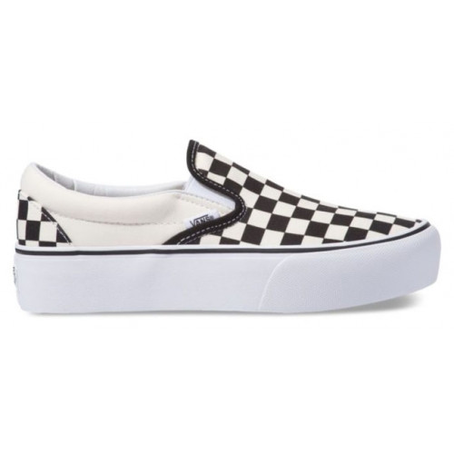 Chaussures Vans Ua Classic Slip on Platform Black