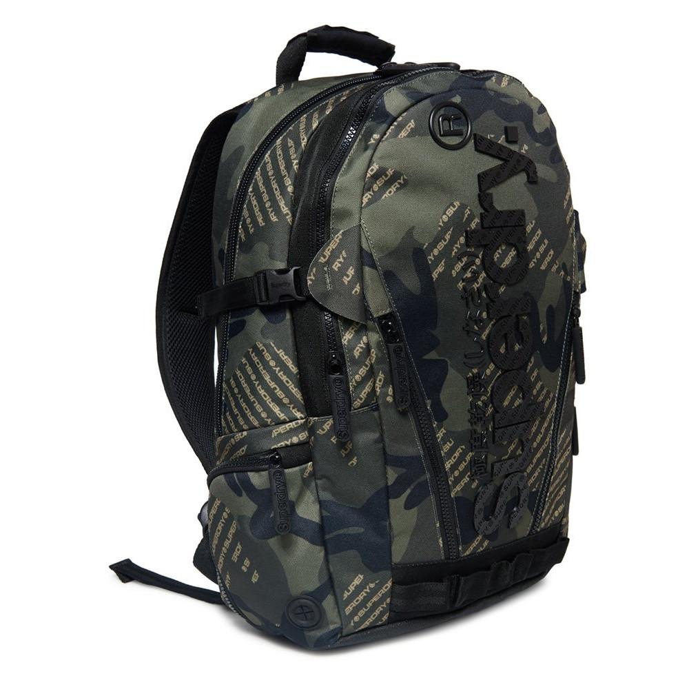 Sac-a-Dos-Superdry-Camo-Logo-Tarp-Backpack-Khaki miniatura 2