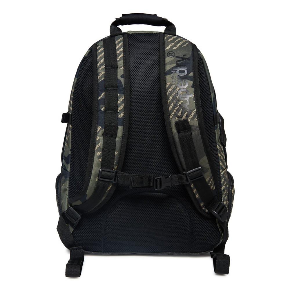Sac-a-Dos-Superdry-Camo-Logo-Tarp-Backpack-Khaki miniatura 3