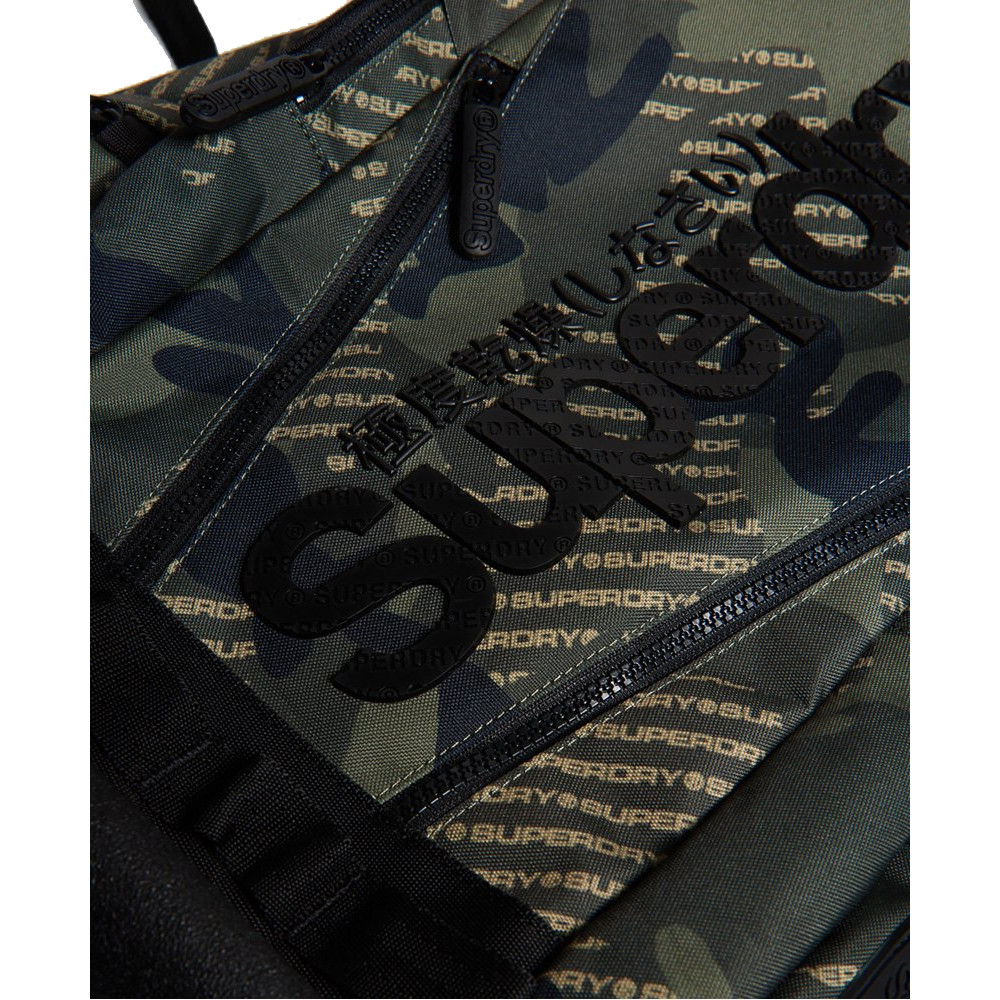 Sac-a-Dos-Superdry-Camo-Logo-Tarp-Backpack-Khaki miniatura 5