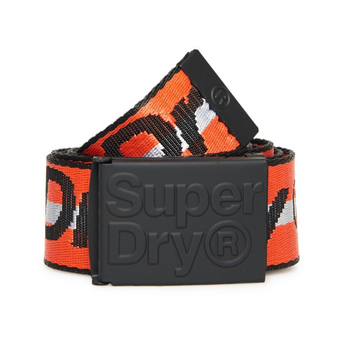 super specials really comfortable newest collection Ceinture Superdry Blazing Belt Orange