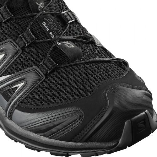 Black Salomon Pro Trail Xa 3d Chaussures Magnet 5qS34ARLcj