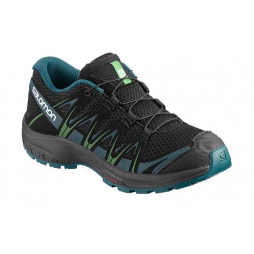 4316f5a6a36 Chaussures Randonnée Salomon Xa Pro 3d J Black lagoon - PRECISION SKI