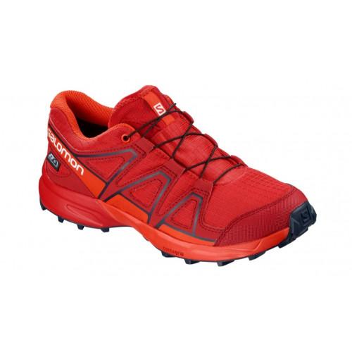 the best attitude f3225 c8485 Chaussures Trail Salomon Speedcross CSWP J High Risk