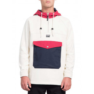 Volcom Capuche À Off Alaric Sweat Fleece White nPw0Ok