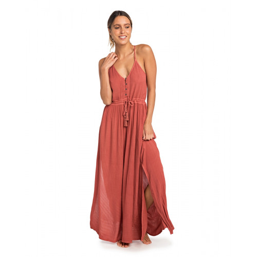 Robe Longue Rip Curl Nelly Maxi Dress Hot Sauce
