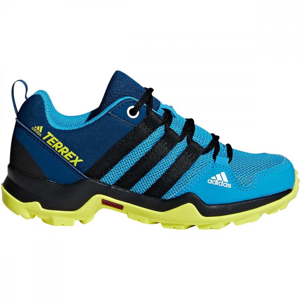 Chaussures Randonnée Adidas Terrex Ax2r K Shock Cyan par Precision Ski