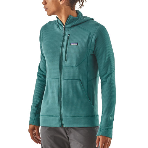 Patagonia Hoody Veste Full Teal Fleece Zip R1 DI29WEH