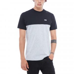Heather Athletic Men Colorblock Shirt T Black Vans EIeWH9bD2Y