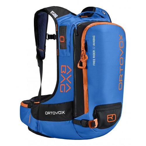 Sac Airbag Ortovox Free Rider 22 Avabag Safety Blue