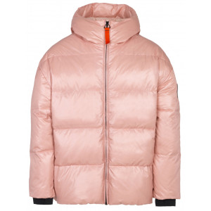 Doudoune à Capuche Mixte Gertrude Et Gaston Mika Glossy Cool Pink