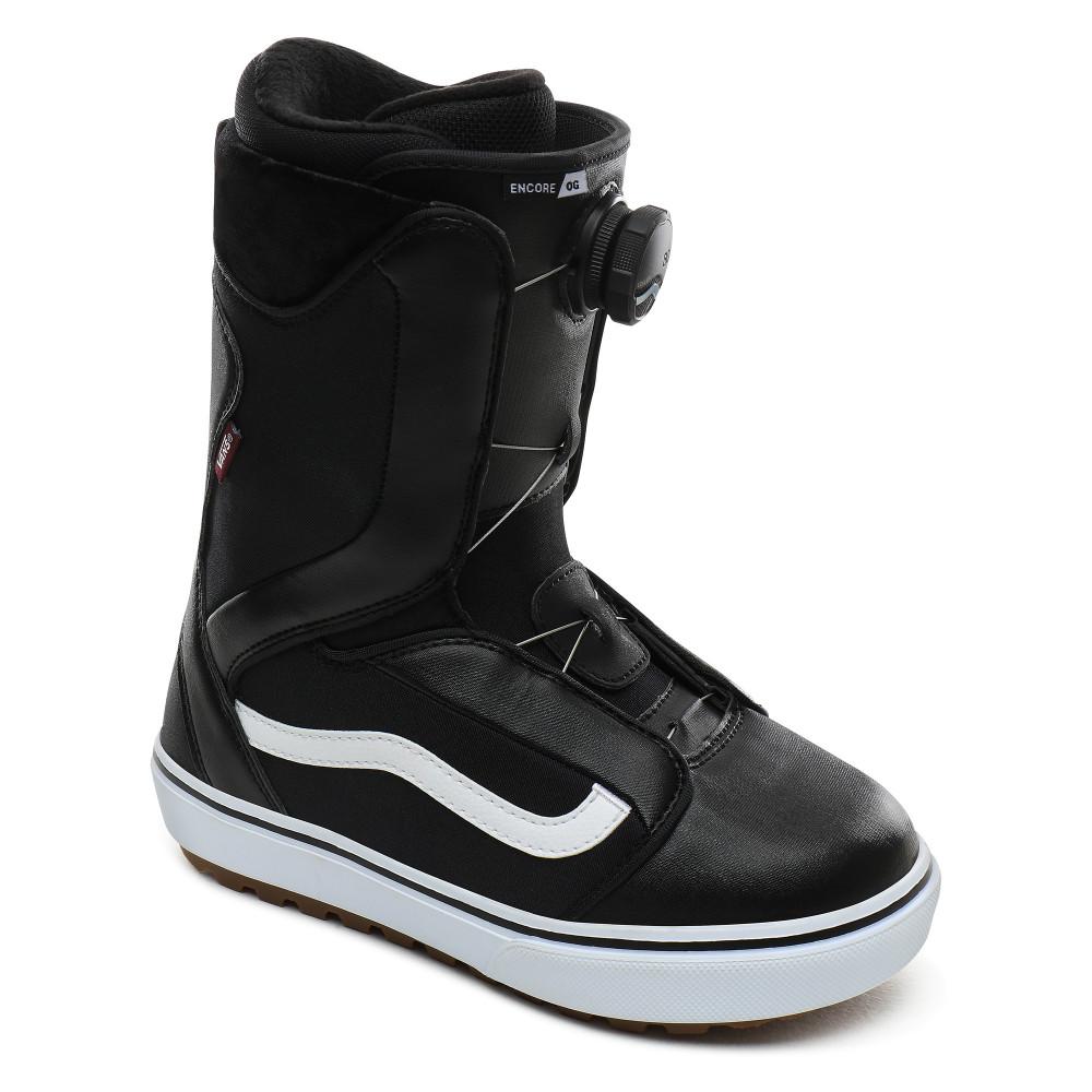 Boots De Snowboard Vans Encore OG Black White par Precision Ski