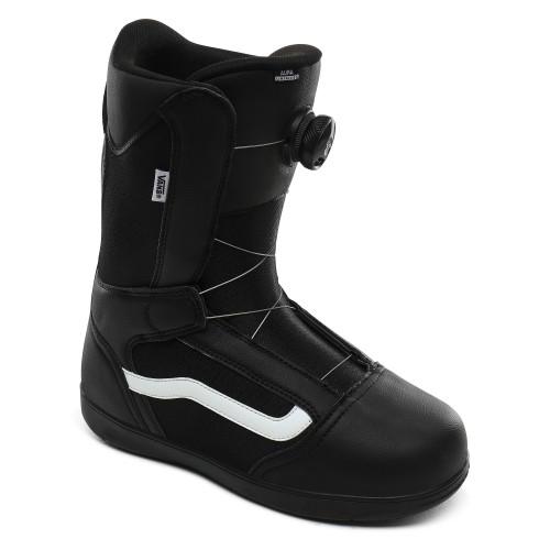 Boots De Snowboard Vans Aura Linerless Black White