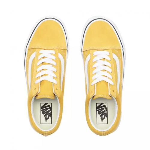 Chaussures Vans Ua Old Skool Yolk Yellow
