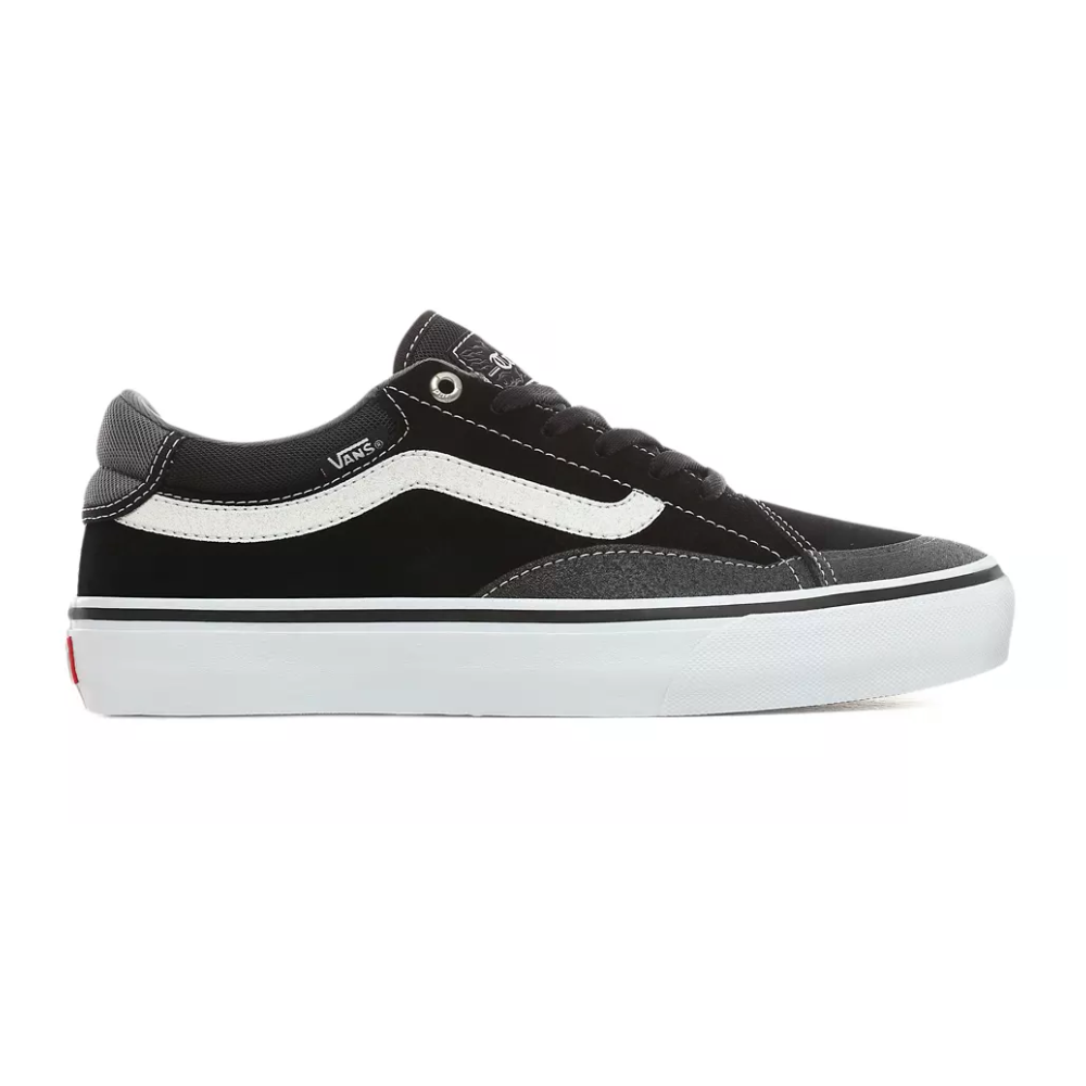 Chaussures Vans Mn TNT Advanced Prototype Black White par Precision Ski