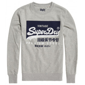 Boutique Superdry White Tri League Baseball In Midnig