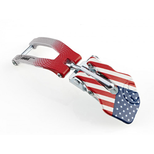 Boucles De Chaussure De Ski Sidas Custom Flag Buckle Usa