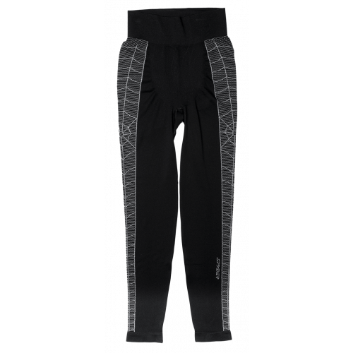 SOUS VÊTEMENT TECHNIQUE BAS HOMME SPYDER SKELETON PANT BLACK / WHITE