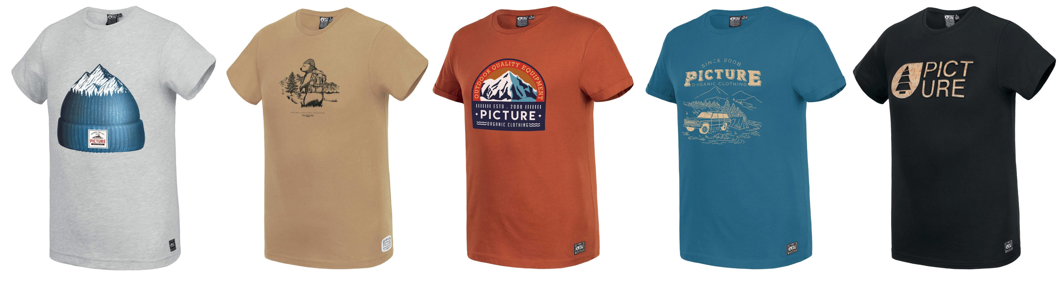 t-shirts homme PICTURE ORGANIC