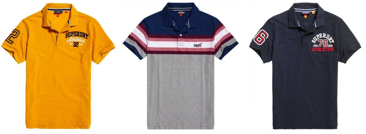 SUPERDRY polos homme