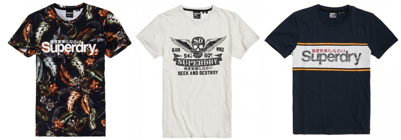 SUPERDRY t-shirts homme