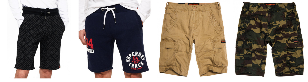 shorts homme SUPERDRY