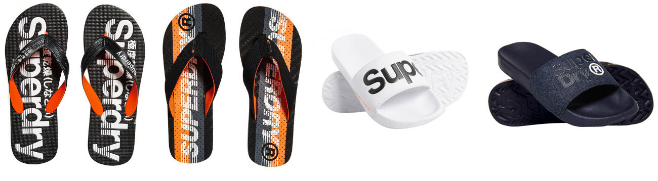 tongs homme SUPERDRY