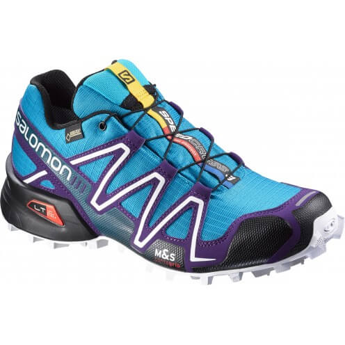 CHAUSSURES TRAIL SALOMON SPEEDCROSS 3 GTX SCUBA BLUE