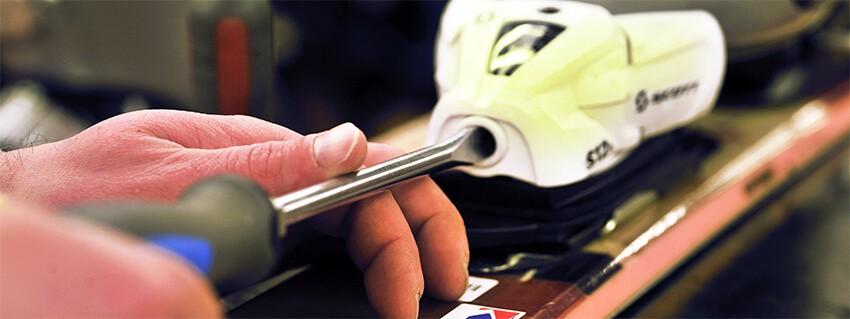 Montage et réglage des Fixations de ski