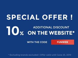 Special Offer with 10% additional discount